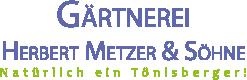 Gärtnerei Metzer Logo